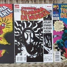 Cómics: SPIDERMAN. TELARAÑA DE MUERTE. SL DE 3 COMICS. COMICS FORUM 1995. Lote 279579313