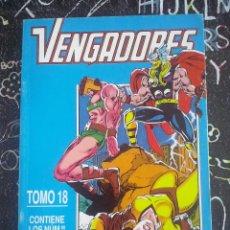 Cómics: FORUM - VENGADORES VOL.1 TOMO 18 RETAPADO CON LOS NUM. 127 AL 132 . MUY BUEN ESTADO. Lote 280111953