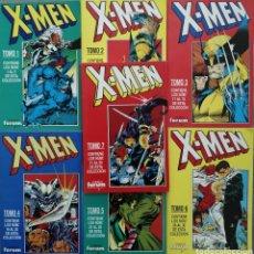 Fumetti: LOTE X-MEN RETAPADOS 1 2 3 4 5 6 7 CHRIS CLAREMONT, JIM LEE, ANDY KUBERT, LIAM SHARP. Lote 280150498