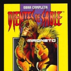 Cómics: DIENTES DE SABLE Y MÍSTICA + MAGNETO - FORUM / DOS COLECCIONES COMPLETAS EN UN TOMO RETAPADO. Lote 280686883