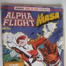 Comics: MARVEL TWO-IN-ONE ALPHA FLIGHT/LA MASA Nº 60 FORUM ARX129. Lote 280911583