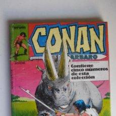 Comics: CONAN EL BARBARO RETAPADO CON LOS Nº 146 147 148 149 150 COMICS FORUM ET. Lote 280928003