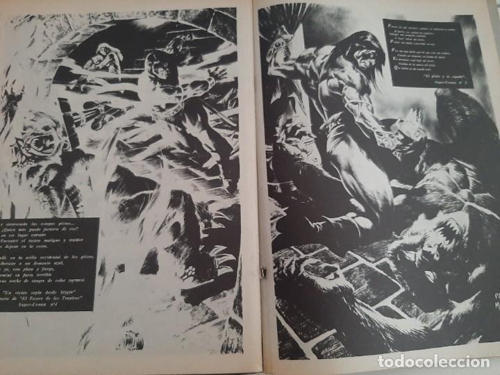 Cómics: COMIC ESPECIAL LA ESPADA SALVAJE DE CONAN EL BARBARO MUY ANTIGUO - Foto 6 - 282192228