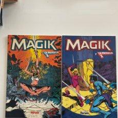 Fumetti: MAGIK Y LA PATRULLA X 2 VOLÚMENES. Lote 282199313