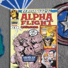 Cómics: ALPHA FLIGHT: ORÍGENES - FLASHBACK - FORUM. Lote 282200673