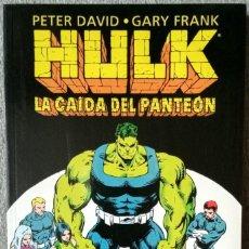 Fumetti: HULK: LA CAÍDA DEL PANTEÓN POR PETER DAVID Y GARY FRANK. Lote 282222738