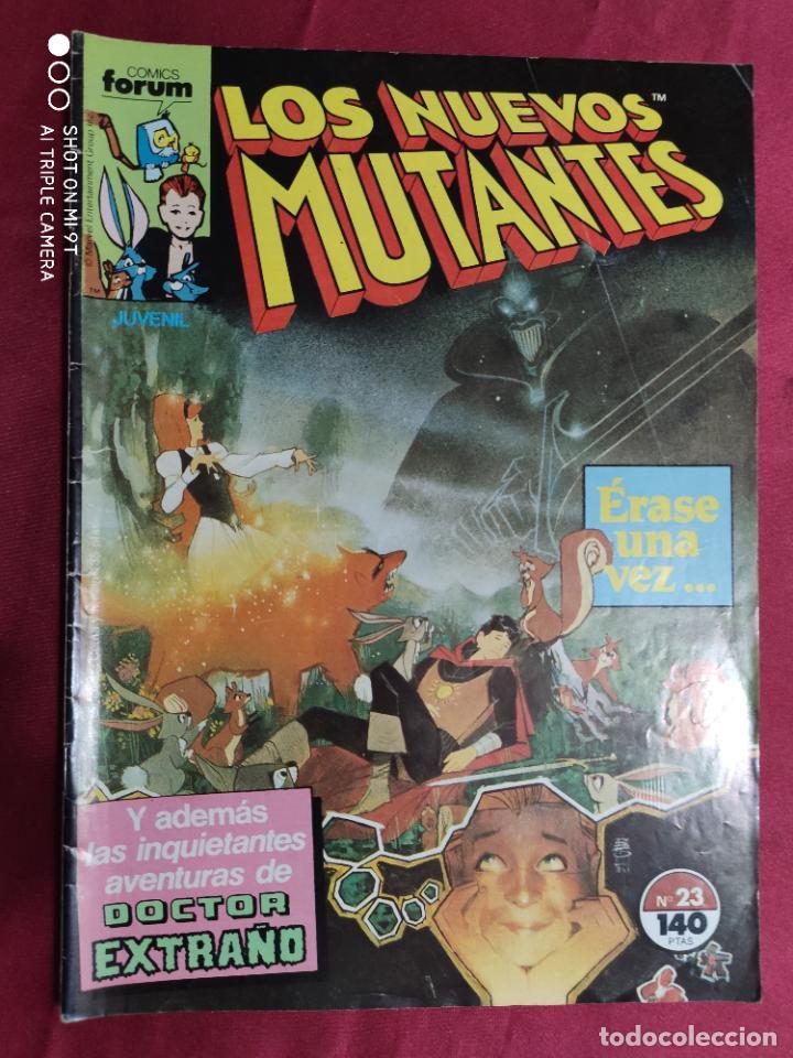 LOS NUEVOS MUTANTES. VOL. 1. Nº 23 . FORUM (Tebeos y Comics - Forum - Nuevos Mutantes)