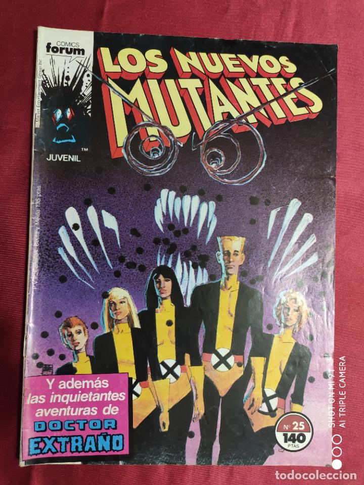 LOS NUEVOS MUTANTES. VOL. 1. Nº 25 . FORUM (Tebeos y Comics - Forum - Nuevos Mutantes)