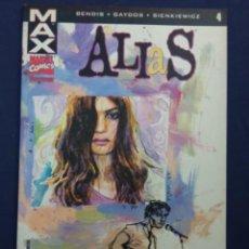 Cómics: ALIAS Nº4. BENDIS. GAYDOS. SIENKIEWICZ. MAX MARVEL COMICS FORUM. Lote 282904828