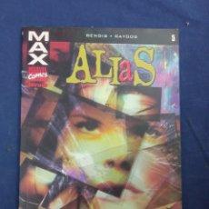 Cómics: ALIAS Nº5. BENDIS. GAYDOS. MAX MARVEL COMICS FORUM. Lote 282904958