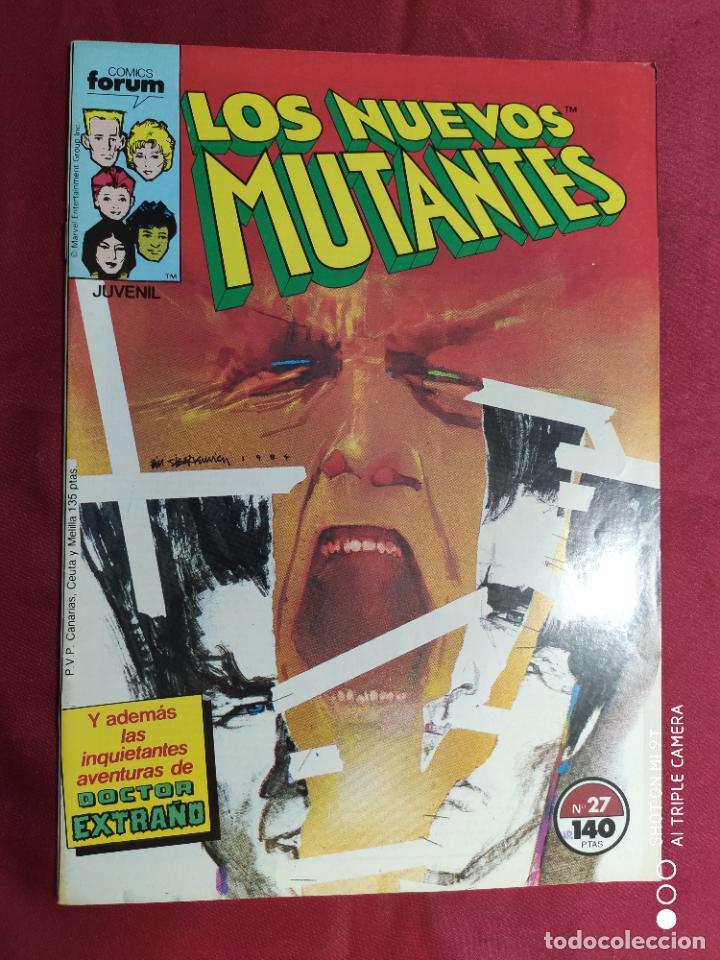 LOS NUEVOS MUTANTES. VOL. 1. Nº 27 . FORUM (Tebeos y Comics - Forum - Nuevos Mutantes)