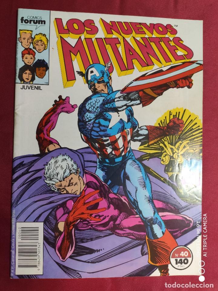 LOS NUEVOS MUTANTES. VOL. 1. Nº 40. FORUM (Tebeos y Comics - Forum - Nuevos Mutantes)