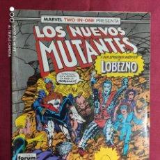 Cómics: LOS NUEVOS MUTANTES. VOL. 1. Nº 45. MARVEL TWO-IN-ONE. FORUM. Lote 282982183