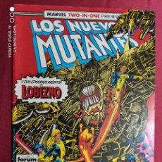 Cómics: LOS NUEVOS MUTANTES. VOL. 1. Nº 46. MARVEL TWO-IN-ONE. FORUM. Lote 282985683