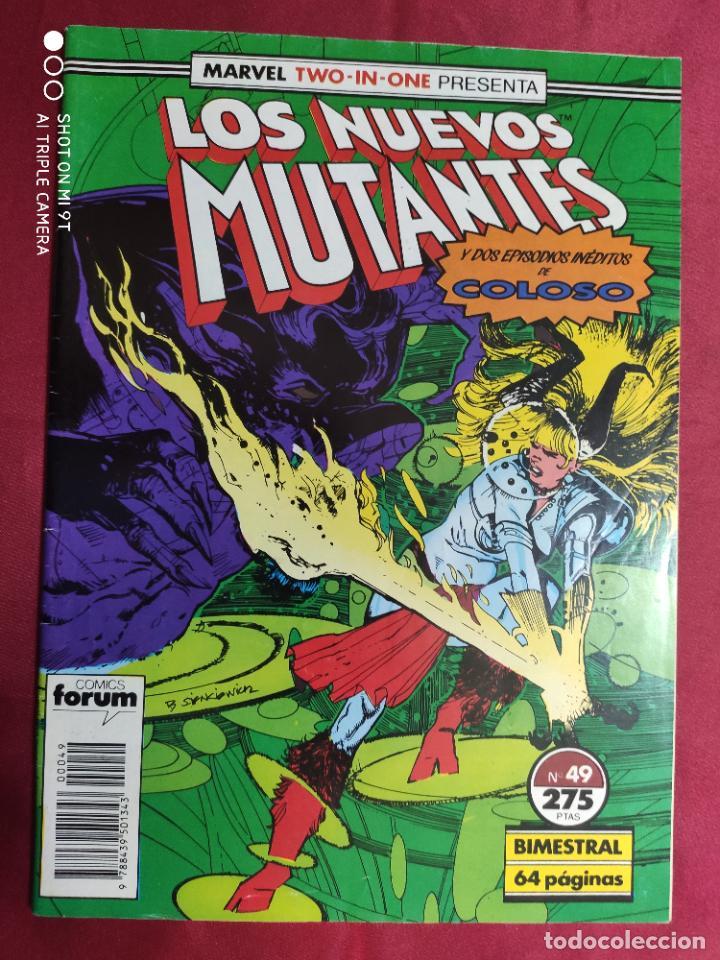 LOS NUEVOS MUTANTES. VOL. 1. Nº 49. MARVEL TWO-IN-ONE. FORUM (Tebeos y Comics - Forum - Nuevos Mutantes)