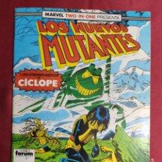 Cómics: LOS NUEVOS MUTANTES. VOL. 1. Nº 53. MARVEL TWO-IN-ONE. FORUM. Lote 282986743