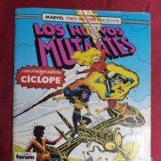 Cómics: LOS NUEVOS MUTANTES. VOL. 1. Nº 54. MARVEL TWO-IN-ONE. FORUM. Lote 282987063