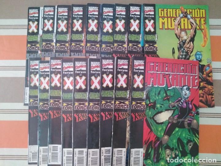 GENERACION MUTANTE COMPLETA 18 NUMEROS - COMIC MARVEL FORUM X-MEN (Tebeos y Comics - Forum - X-Men)