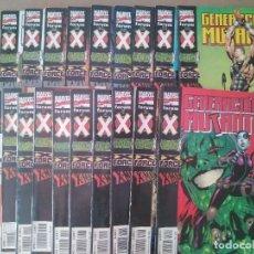 Cómics: GENERACION MUTANTE COMPLETA 18 NUMEROS - COMIC MARVEL FORUM X-MEN. Lote 283114513