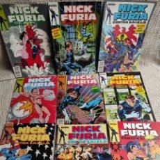 Cómics: NICK FURIA CONTRA S.H.I.E.L.D. - SERIE COMPLETA EN 9 EJEMPLARES , FORUM. Lote 38075529