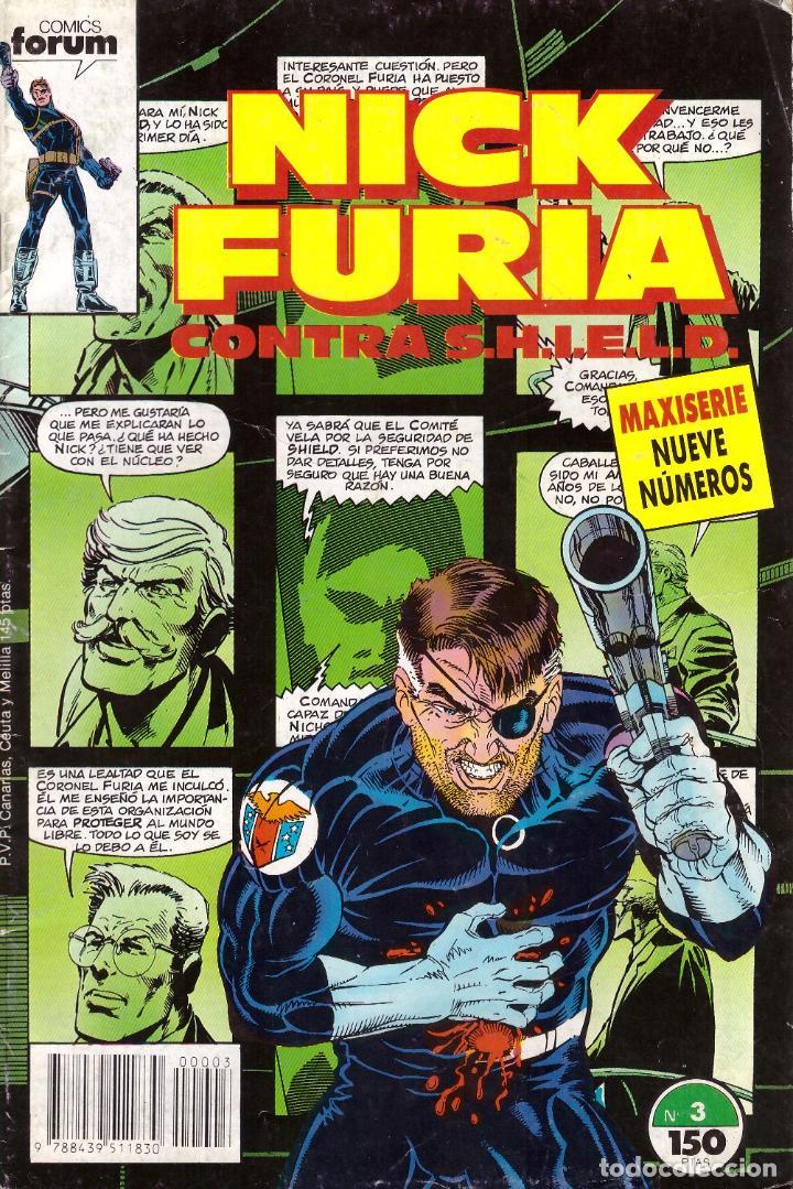 COMIC NICK FURIA CONTRA SHIELD, Nº 3 - FORUM (Tebeos y Comics - Forum - Furia)