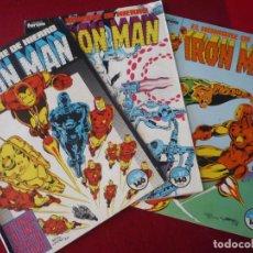 Cómics: IRON MAN VOL. 1 NºS 26, 27 Y 28 (DENNY ONEILL ) MARVEL FORUM. Lote 283928338
