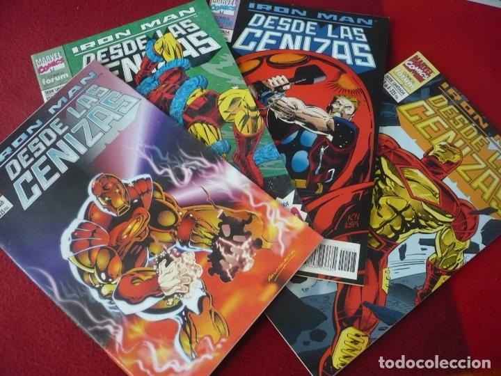 IRON MAN DESDE LAS CENIZAS NºS 1, 2, 7 Y 8 ( KAMINSKI ) ¡BUEN ESTADO! FORUM MARVEL (Tebeos y Comics - Forum - Iron Man)