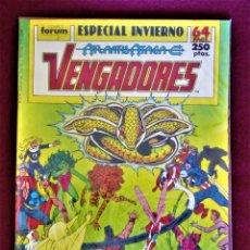 Comics: LOS VENGADORES ATLANTIS ATACA ESPECIAL INVIERNO 1989 FORUM DE TIENDA VER DESCRIPCIÓN FOTOS. Lote 284490413