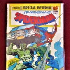 Comics: SPIDERMAN ATLANTIS ATACA ESPECIAL INVIERNO 1989 FORUM DE TIENDA VER DESCRIPCIÓN FOTOS. Lote 284492673