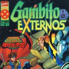 Comics: GAMBITO Y LOS EXTERNOS Nº 4 - FORUM. Lote 284550013
