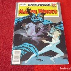 Cómics: MARVEL HEROES ESPECIAL PRIMAVERA 1989 CAPA Y PUÑAL ( MANTLO ) FORUM. Lote 284685718