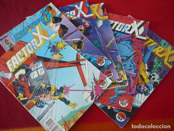 FACTOR X VOL. 1 NºS 16, 17, 20, 22, 32 Y 33 ( SIMONSON ) MARVEL FORUM (Tebeos y Comics - Forum - Factor X)