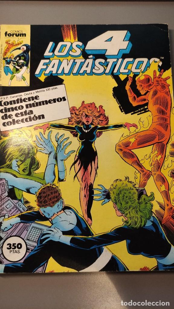 LOS 4 FANTÁSTICOS - NÚMEROS DEL 56 AL 60 (Tebeos y Comics - Forum - 4 Fantásticos)