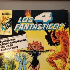 Cómics: LOS 4 FANTÁSTICOS - NÚMEROS DEL 56 AL 60. Lote 284779053