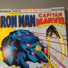 Cómics: IRON MAN - CAPITÁN MARVEL (MARVEL TWO IN ONE) - NÚMEROS DEL 44 AL 46. Lote 284779673