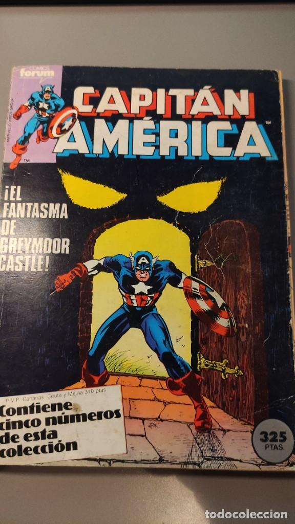 CAPITÁN AMÉRICA - NÚMEROS DEL 16 AL 20 (Tebeos y Comics - Forum - Capitán América)