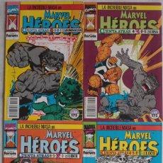 Cómics: LA INCLEIBLE MASA EN MARVEL HEROES CUENTA ATRAS... / Nº 66 AL 69 / FÓRUM - REF.087. Lote 285048043