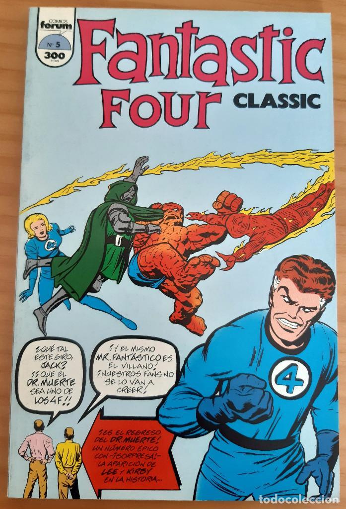 FANTASTIC FOUR - CLASSIC - Nº 5 - AÑO 1993 - PERFECTO ESTADO (Tebeos y Comics - Forum - 4 Fantásticos)