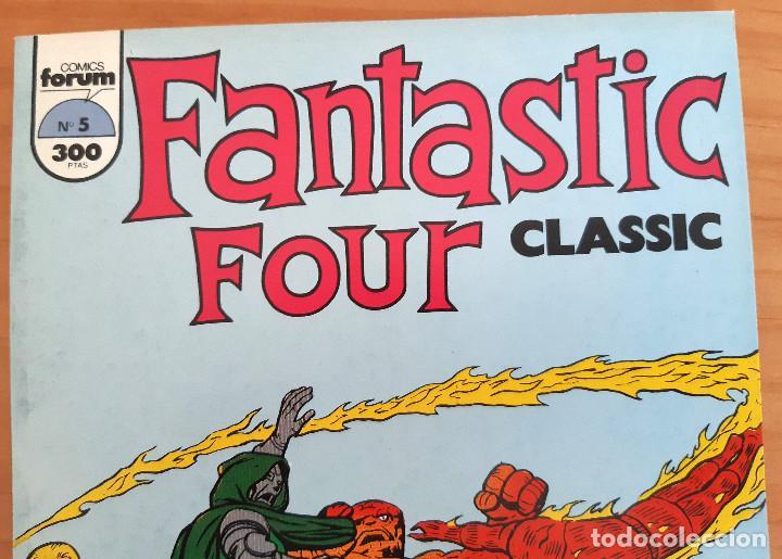 Cómics: FANTASTIC FOUR - CLASSIC - Nº 5 - AÑO 1993 - PERFECTO ESTADO - Foto 2 - 285112573