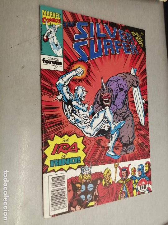 SILVER SURFER VOL. 2 Nº 16 / MARVEL FORUM (Tebeos y Comics - Forum - Silver Surfer)
