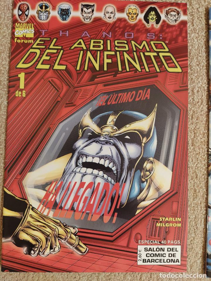 THANOS: EL ABISMO DEL INFINITO (MINISERIE COMPLETA) FORUM NÚMEROS 1 AL 6 - IMPECABLE (Tebeos y Comics - Forum - Silver Surfer)