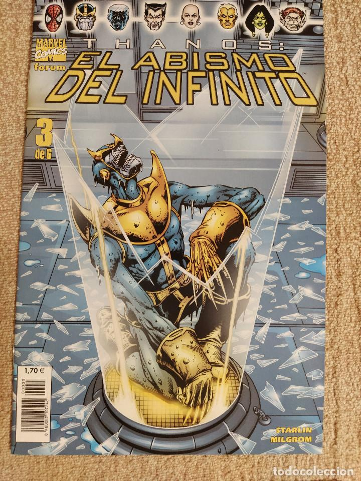 Cómics: Thanos: El Abismo del Infinito (miniserie completa) Forum números 1 al 6 - impecable - Foto 3 - 285483283