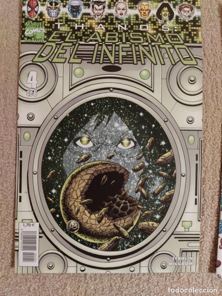 Cómics: Thanos: El Abismo del Infinito (miniserie completa) Forum números 1 al 6 - impecable - Foto 4 - 285483283