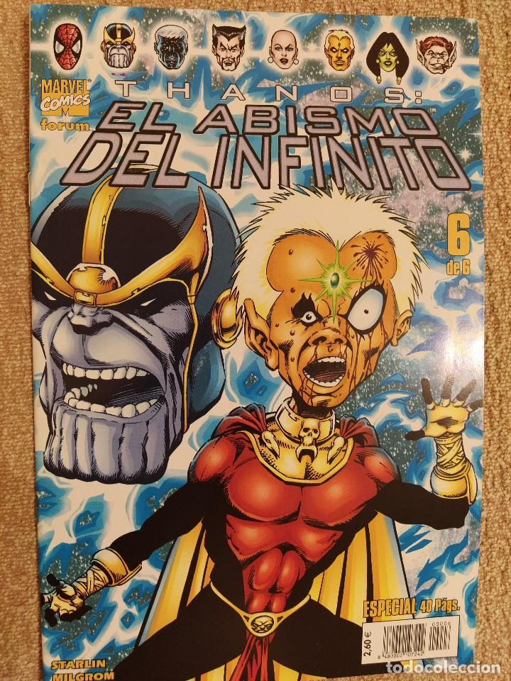 Cómics: Thanos: El Abismo del Infinito (miniserie completa) Forum números 1 al 6 - impecable - Foto 6 - 285483283