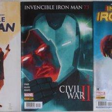 Cómics: INVENCIBLE IRON MAN / Nº 73-74-75 COMPLETA / FÓRUM - REF.118. Lote 285560358