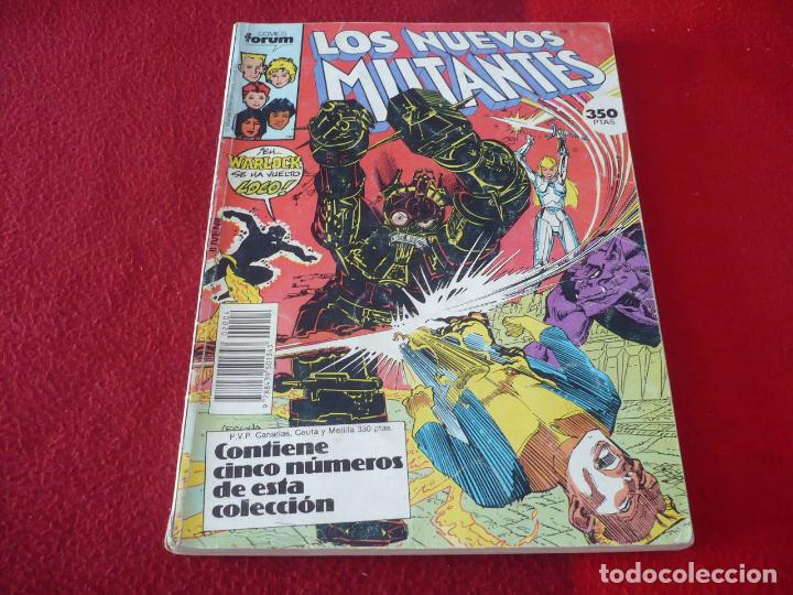 LOS NUEVOS MUTANTES NºS 31 AL 35 RETAPADO ( CLAREMONT ) MARVEL FORUM (Tebeos y Comics - Forum - Nuevos Mutantes)