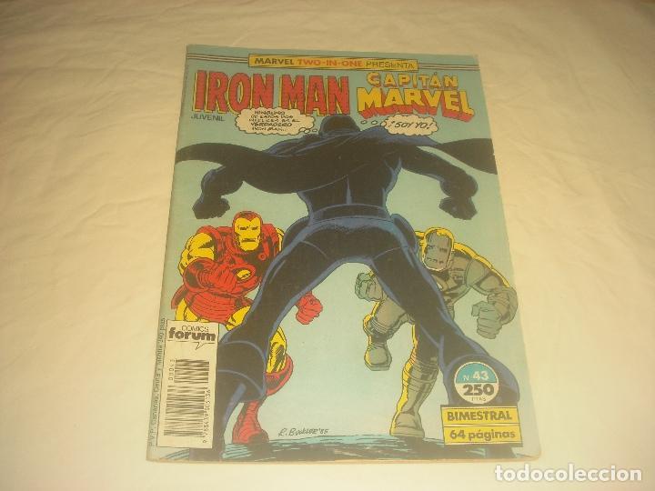 IRON MAN CAPITAN MARVEL N. 43 (Tebeos y Comics - Forum - Iron Man)