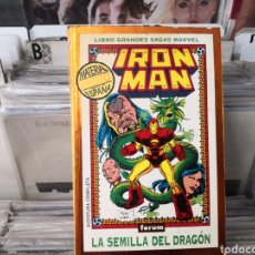 Cómics: IRON MAN, LA SEMILLA DEL DRAGÓN. Lote 286267333