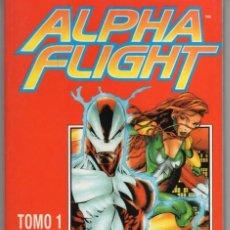 Cómics: ALPHA FLIGHT VOL. 2 TOMO 1 RETAPADO CON LOS NUMEROS 1 AL 5 - FORUM - ESTADO EXCELENTE - SUB03M. Lote 286591983