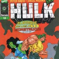 Cómics: HULK VOL. 2 Nº 13 PROCEDE DE RETAPADO - FORUM - SUB03M. Lote 286602378